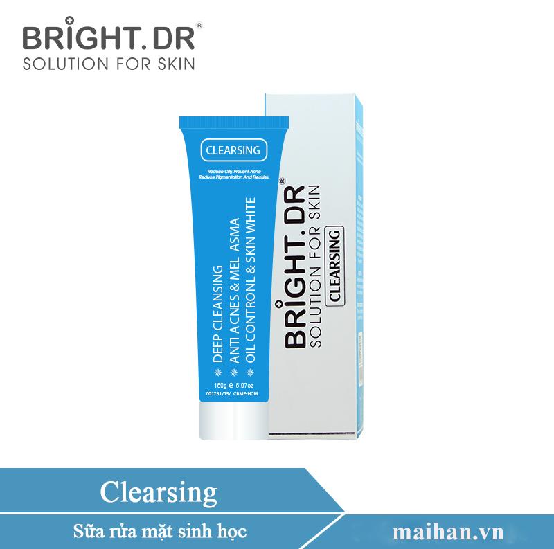 Sữa rửa mặt thích hợp cho mọi loại da Bright.Dr Doctors