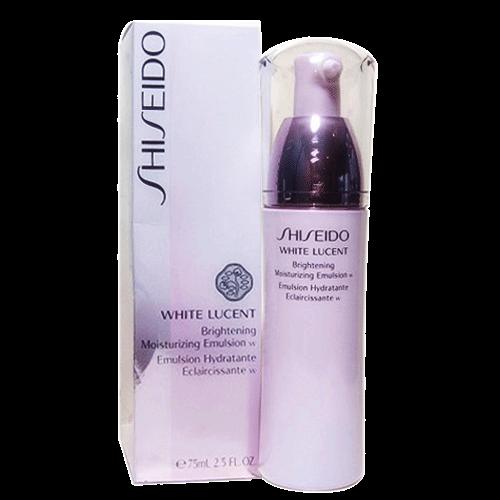 Sữa dưỡng đêm làm trắng cho da nhờn Shiseido White Lucent Brightening Moisturizing Emulsion w