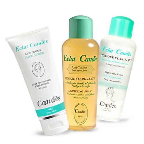 Bộ sản phẩm dưỡng trắng dành cho mọi loại da Candes