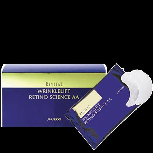 Miếng dán chống nhăn vùng da mắt Shiseido Revital Wrinklelift Retino Science AA