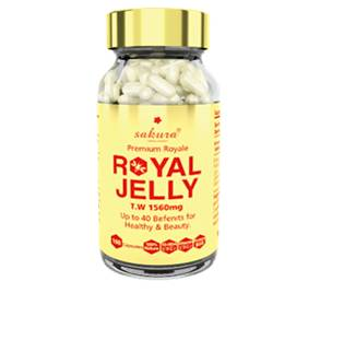 Sữa Ong Chúa Cao Cấp Sakura Royal Jelly Royale Premium
