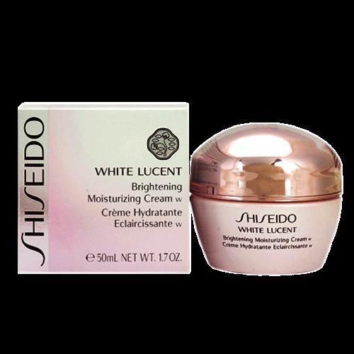 Kem dưỡng đêm làm trắng cho da khô Shiseido White Lucent Brightening Moisturizing Cream w