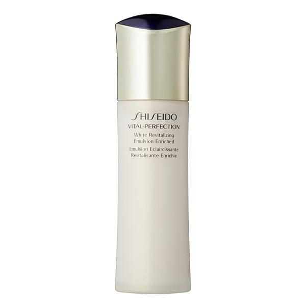 Sữa dưỡng tăng cường độ ẩm Shiseido Vital-Perfection White Revitalizing Emulsion Enriched