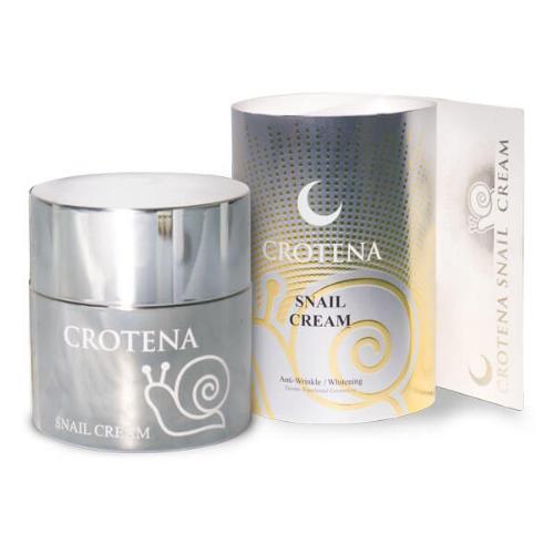 Kem dưỡng trắng da Crotena Snail Cream (Tặng 2 mặt nạ dưỡng da)