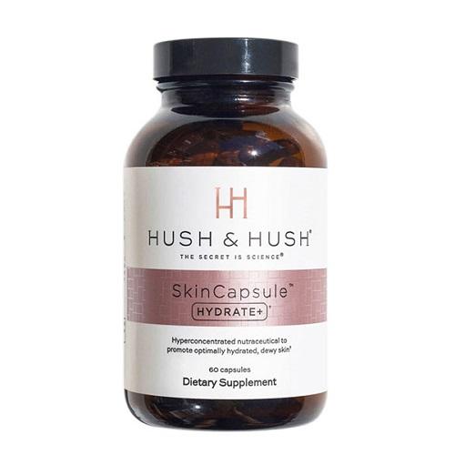 Viên uống cấp ẩm, ngăn khô da Image Hush & Hush SkinCapsule Hydrate+