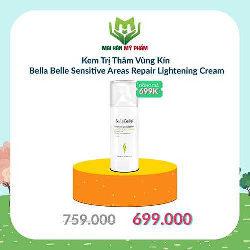 Kem Trị Thâm Vùng Kín Bella Belle Sensitive Areas Repair Lightening Cream