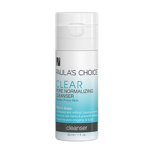 Sữa rửa mặt trị mụn Paula's Choice Clear Pore Normalizing Cleanser 30ml