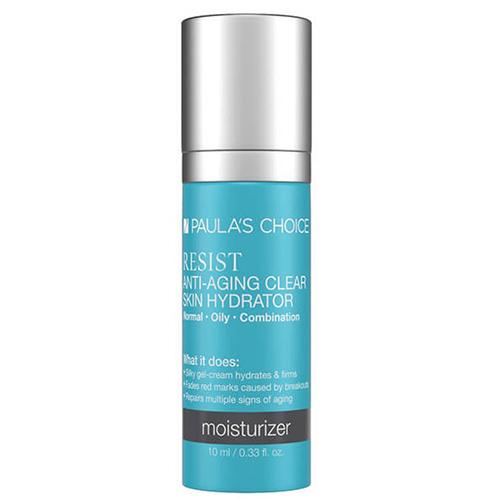 Kem dưỡng ẩm chống lão hóa Paula's Choice Resist Anti-Aging Clear Skin Hydrator 10ml