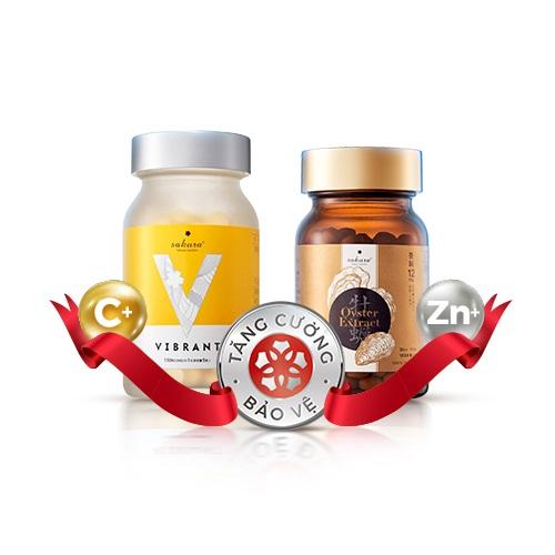 Combo tăng cường sức khỏe Sakura – Đóng góp 150K vào quỹ VACCINE phòng dịch COVID-19