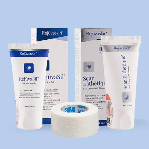 Bộ sản phẩm xóa mờ sẹo Scar Heal Kit Plus