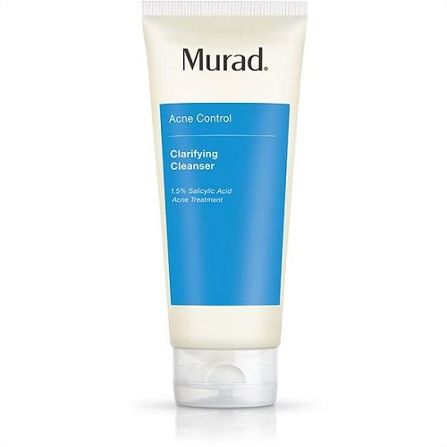 Gel rửa mặt sạch khuẩn dành cho da mụn Murad Clarifying Cleanser