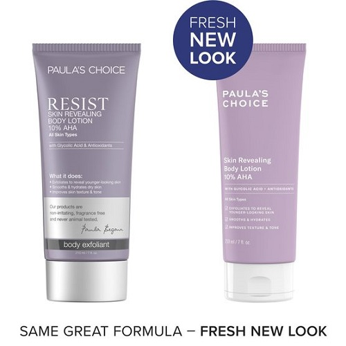 Kem dưỡng thể trắng da Paula's Choice Resist Skin Revealing Body Lotion 10% AHA
