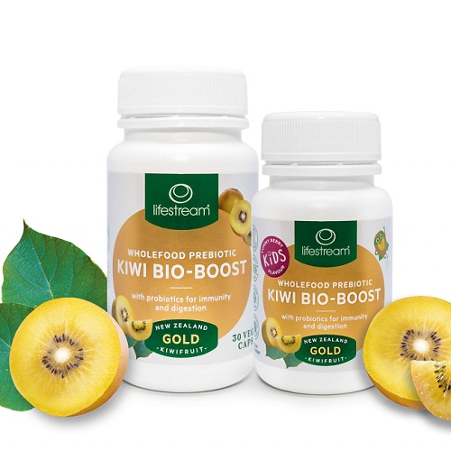 Viên Kẹo Ngậm Kiwi Hỗ Trợ Tiêu Hóa Lifestream Bio-Boost