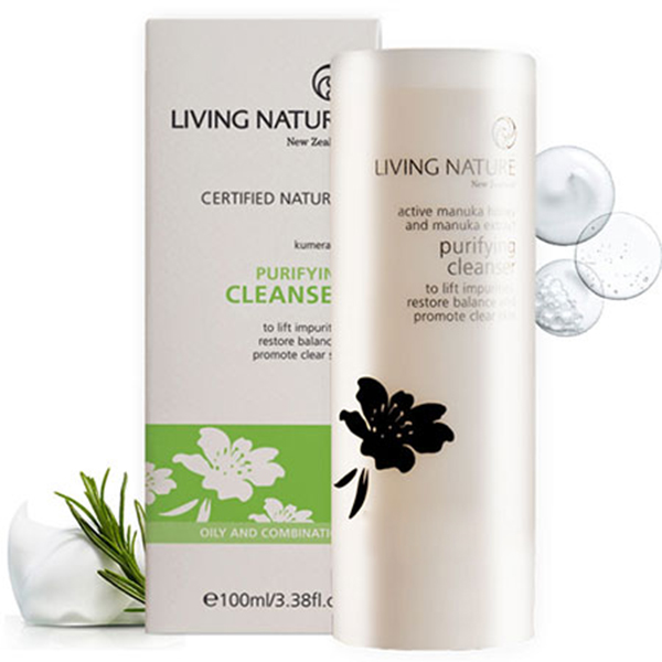Sữa rửa mặt thanh lọc Purifying Cleanser Living Nature