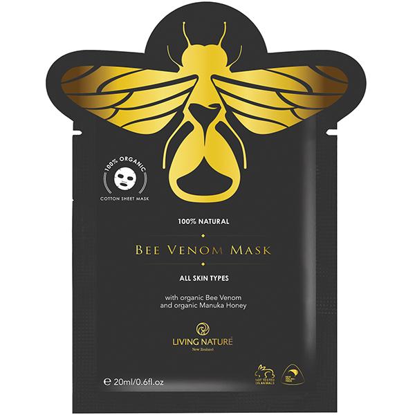 Mặt nạ dưỡng da chiết xuất nọc ong Living Nature