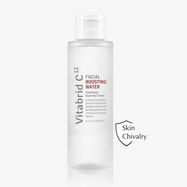 Nước thần cân bằng dưỡng ẩm, chống lão hóa, phục hồi da Vitabird C12 Facial Boosting Water