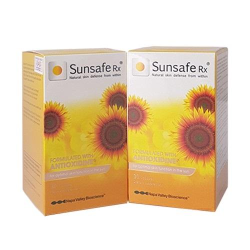 Viên uống chống nắng trắng da Sunsafe Rx 30 viên