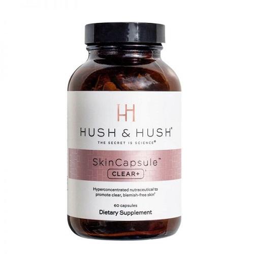Viên uống giảm mụn Image Hush & Hush SkinCapsule Clear+