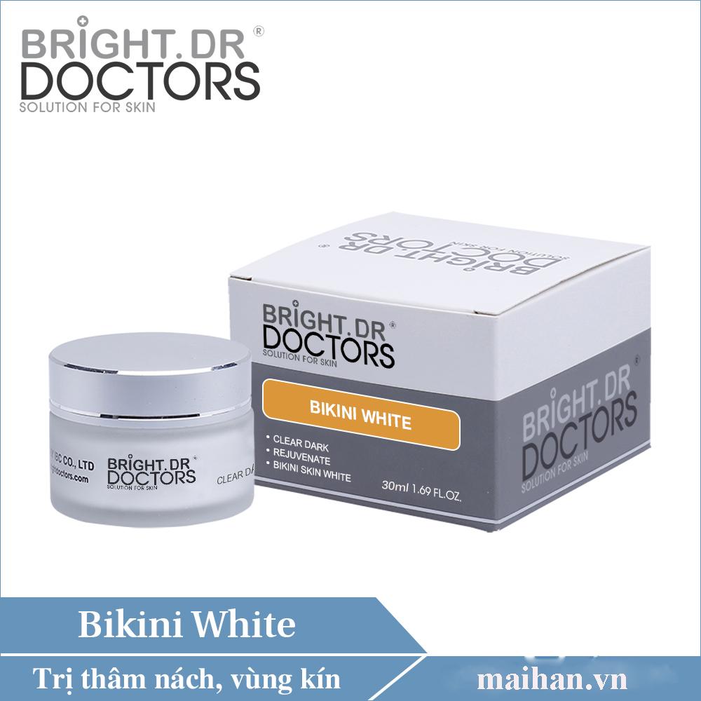 Kem chữa  thâm, trắng sáng nách & bikini Bright.Dr Doctors