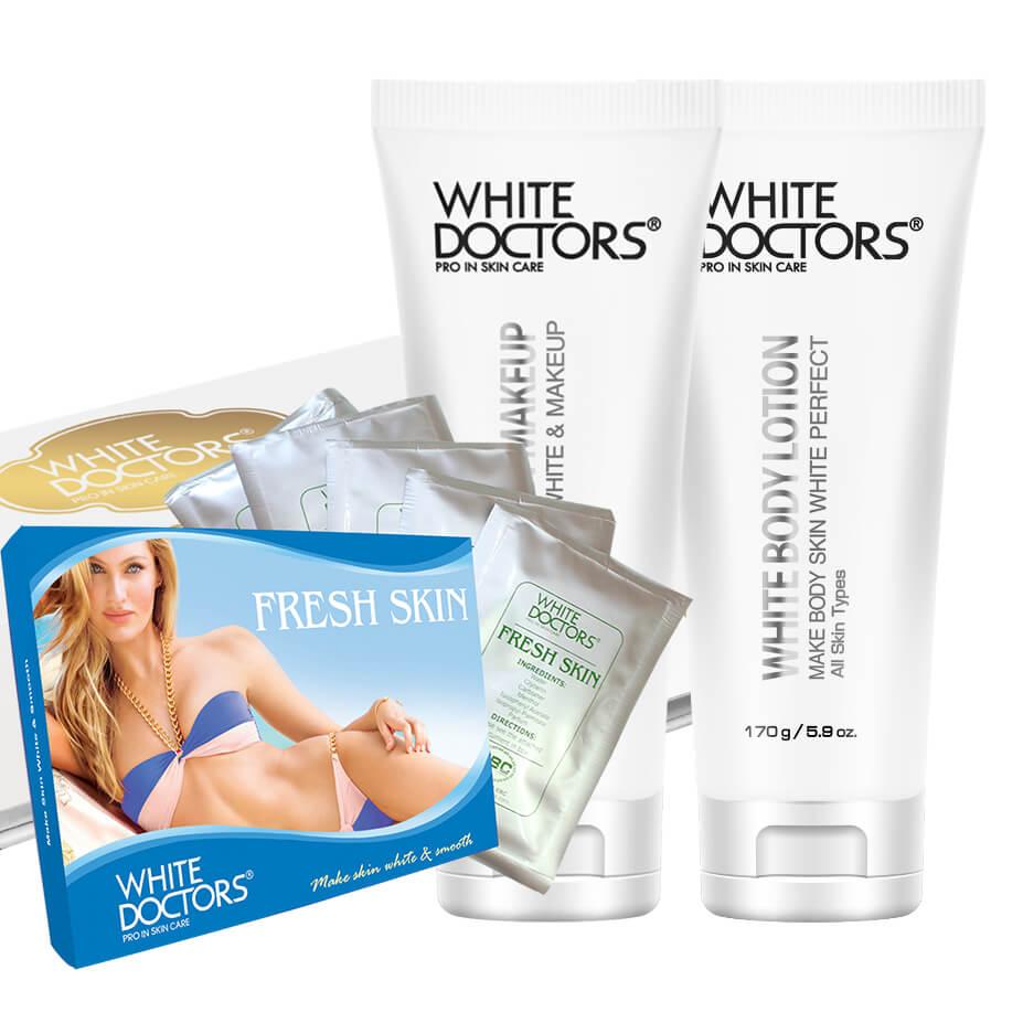 Bộ dưỡng trắng da toàn thân hoàn hảo White Doctors