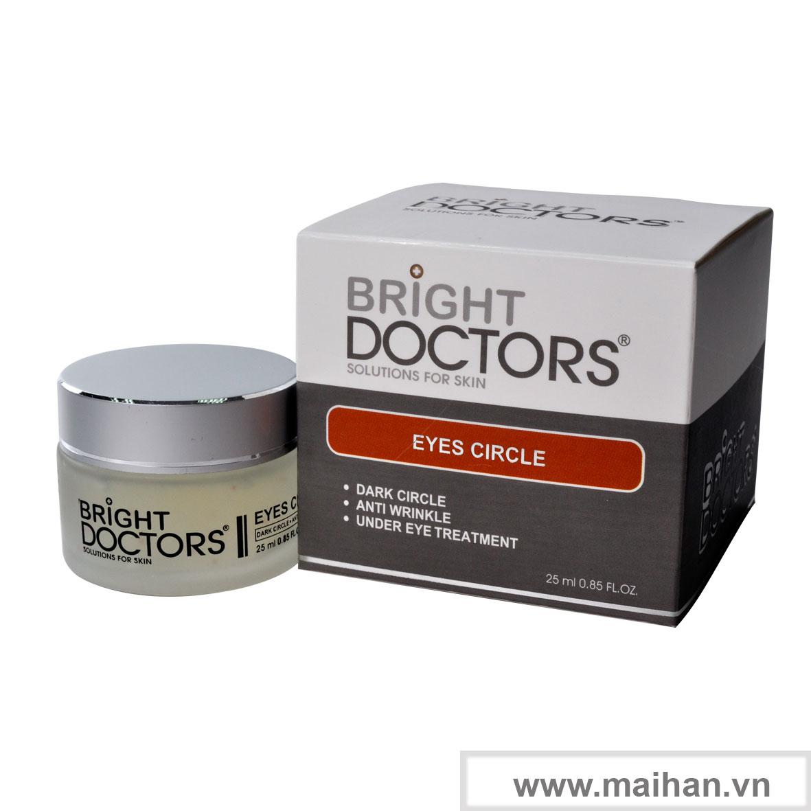Kem trị thâm và nhăn quầng mắt Bright Doctors