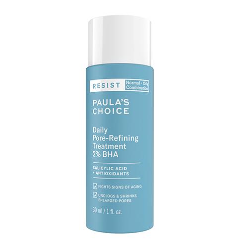 Sản phẩm loại bỏ tế bào chết Paula's Choice Resist Daily Pore-Refining Treatment With 2% BHA 30ml