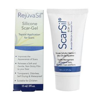 Gel điều trị sẹo Rejuvasil Silicone Scar 15 ml