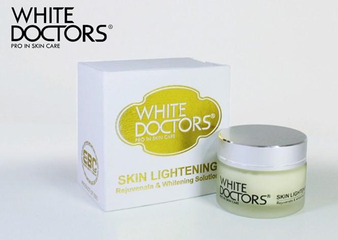 Kem dưỡng trắng da mặt chống lão hóa Skin Lightening White Doctor