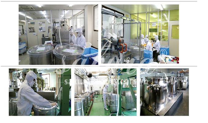 Quy trình chế tạo mỹ phẩm Sakura bên trong nhà máy sản xuất tại Nhật