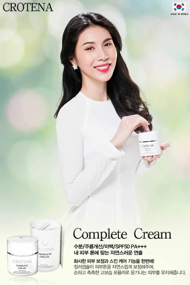 Thủy Tiên và dòng sản phẩm Crotena Complete CC Cream