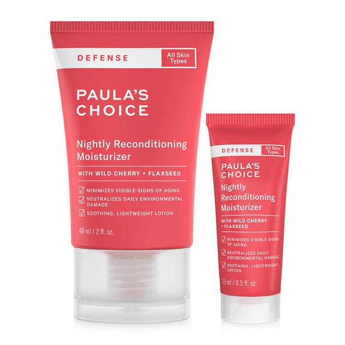 Kem dưỡng ẩm hiệu quả Paula's Choice Defense Nighty Reconditioning Moisturizer.