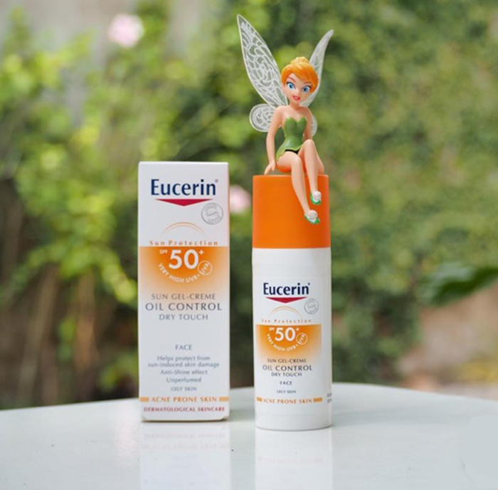 Kem chống nắng Eucerin Sun Gel-Creme Oil Control Dry Touch