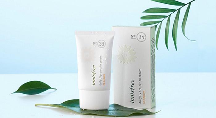 Kem chống nắng Innisfree Daily UV Protection Cream No-sebum