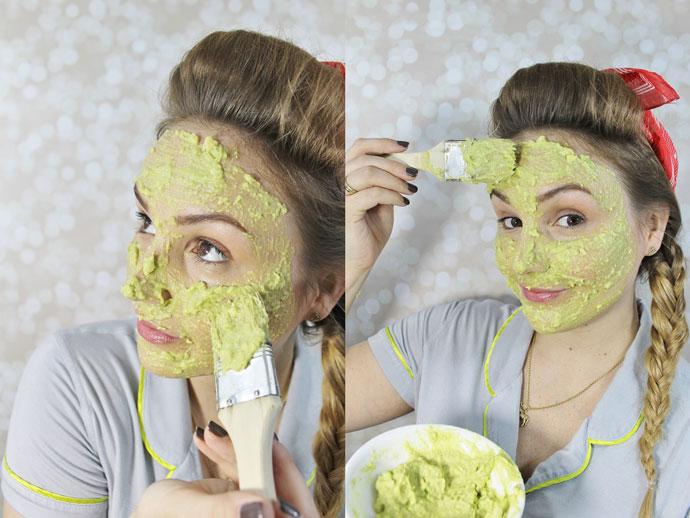 Kiên trì chăm sóc da với mặt nạ trái bơ 2 - 3 lần/tuần