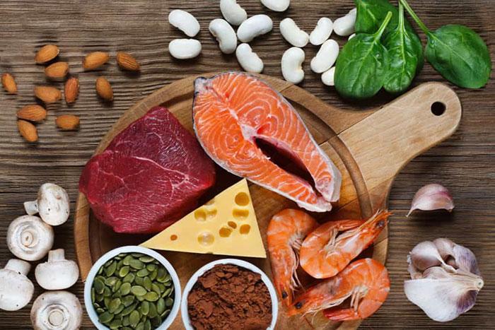 Bổ sung các thực phẩm chứa kẽm (Zn) vào bữa ăn hàng ngày