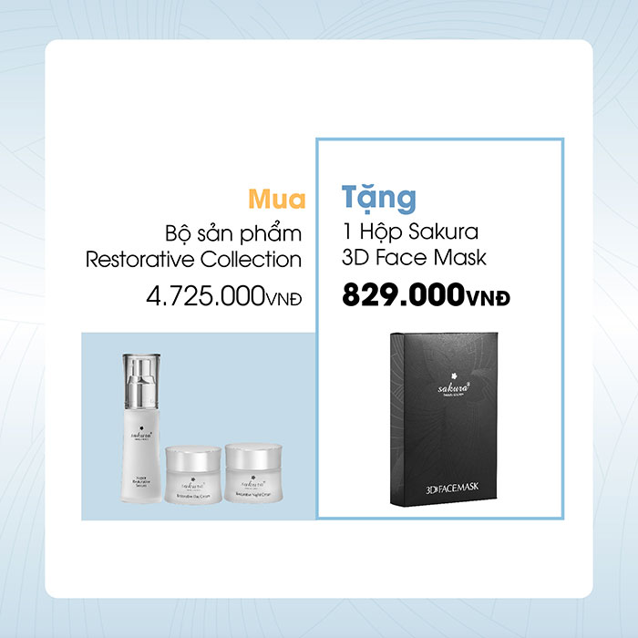 Bộ sản phẩm Restorative Collection – Bí kíp cho da khỏe đẹp, chống lão hóa da.