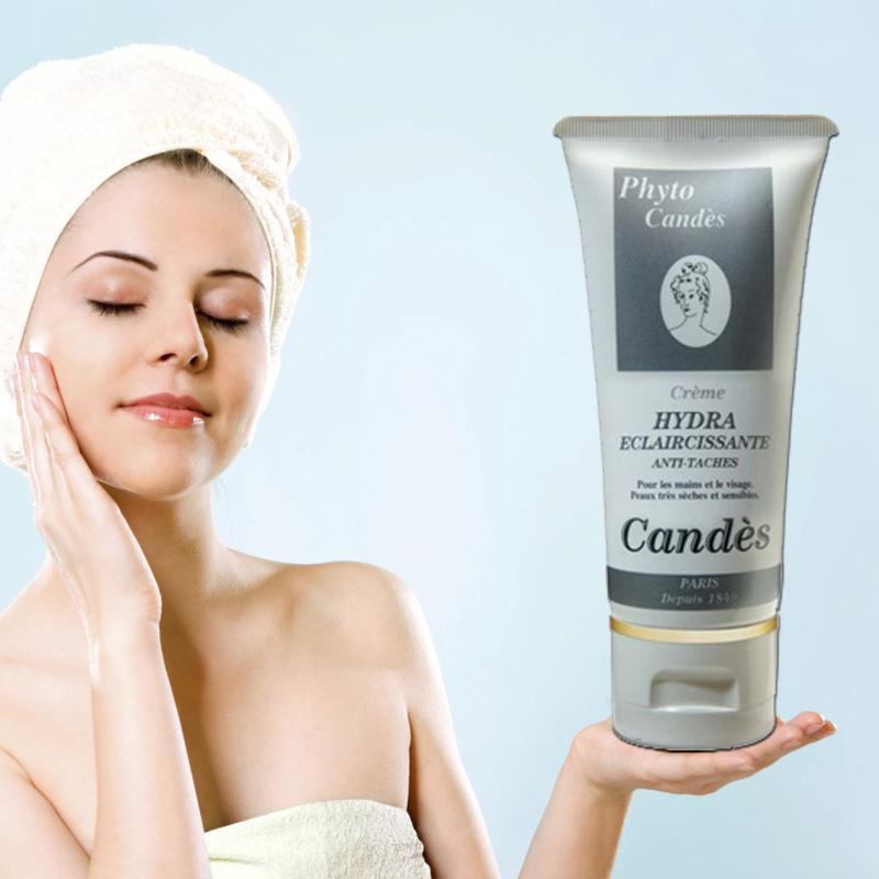 Kem giữ ẩm làm trắng dành cho da mẫn cảm Candes Hydra Whitening Cream