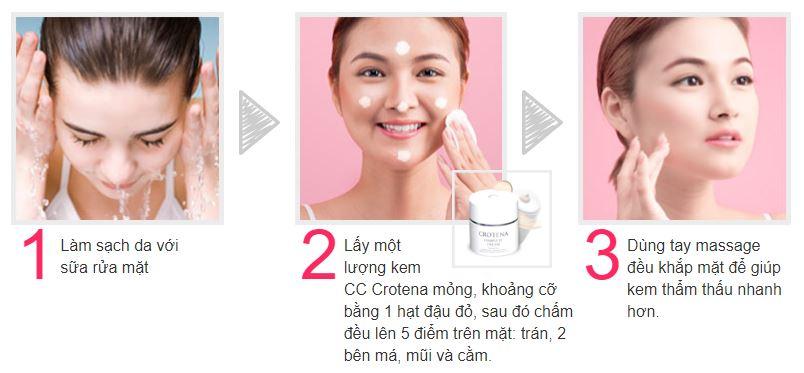 Chỉ với 3 bước đơn giản và chưa đầy 10 phút cùng Crotena cho làn da đẹp hoàn hảo mỗi ngày
