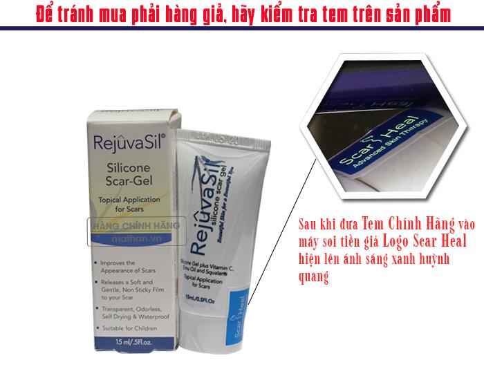 Gel Điều Trị Sẹo Rejuvasil Silicone Scar  Chính Hãng 100% - Đặc Trị Sẹo Lâu Năm