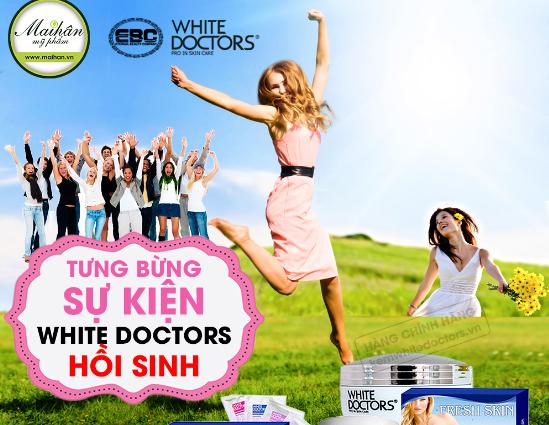 Niềm vui của chị em phụ nữ Việt khi White Doctors quay lại chính là động lực lớn lao cho toàn bộ nhà sản xuất, nhà phân phối