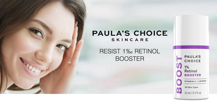 1% Retinol Booster là tinh chất chống lão hóa của Paula's Choice Skincare