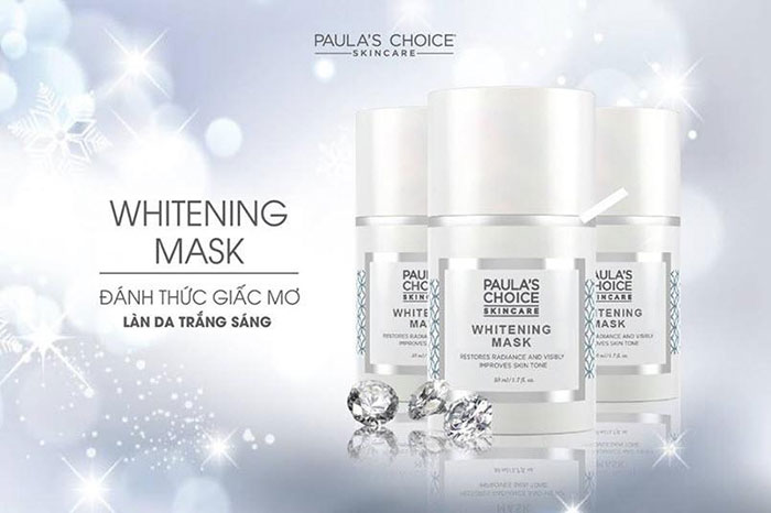 Mặt nạ ngủ làm trắng da Paula's Choice Whitening Mask