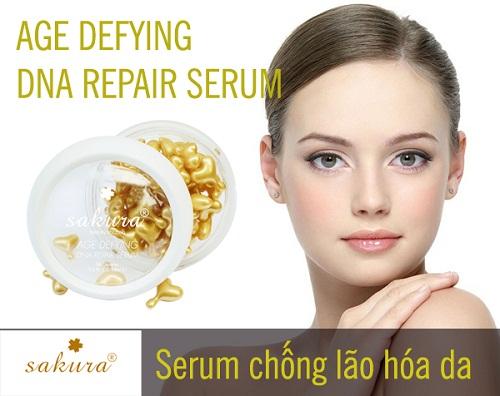 Serum Sakura Age Defying DNA Repair Serum có thật sự tốt như tin đồn không?