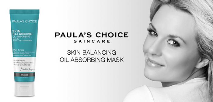 SKIN BALANCING Oil-Absorbing Mask là mặt nạ dành cho da dầu và da hỗn hợp
