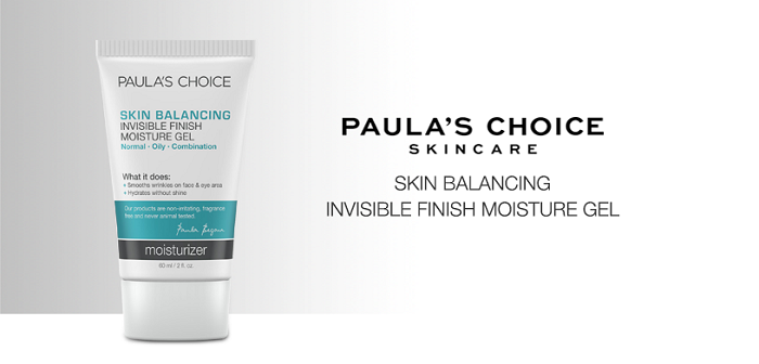 Skin Balancing Invisible Finish Moisture Gel là loại kem dưỡng hoàn hảo cho làn da dầu