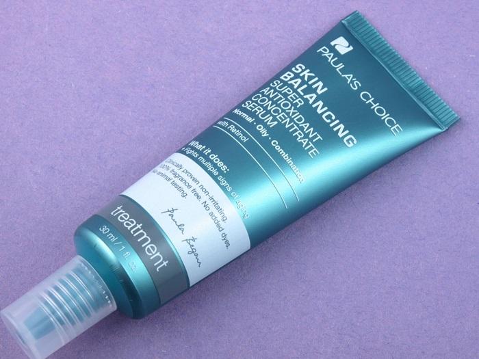Retinol trong Skin Balancing Super Antioxidant Concentate Serum phát huy tác dụng chống lão hóa triệt để trên da