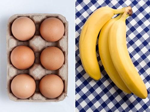 Mặt nạ trứng gà và chuối mang lại làn da sáng màu, săn chắc