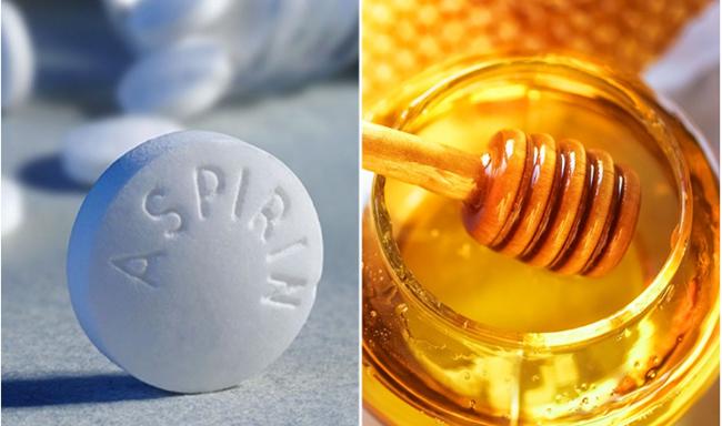Công thức điều chế hỗn hợp trị mụn từ aspirin và mật ong