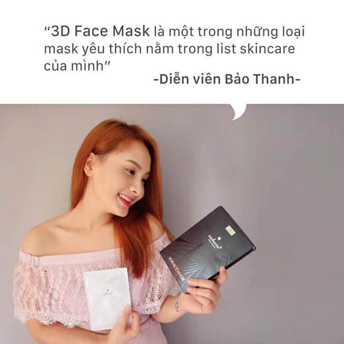 Bạn đã sở hữu loại mặt nạ Sakura 3D Face Mask như diễn viên Bảo Thanh chưa?