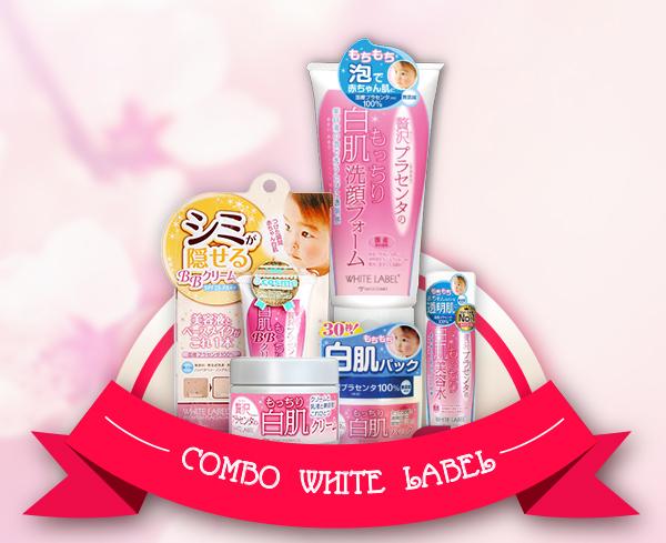 Bộ sản phẩm dưỡng trắng da mặt hoàn hảo White Label chính là vũ khí bí mật giúp chị em xinh đẹp rạng ngời bất chấp tuổi tác